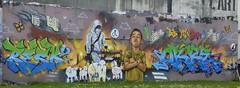 Graff: rue de la Providence à Quimper (11/04/2018) (EricFromPlab) Tags: graff graffiti tag tags street art urban wall mural streetart bretagne finistère breizh brittany quimper