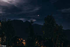 Giewont (Marcin Jackowski (Hazon)) Tags: night mountains poland zakopane góry long trees clouds dark stars