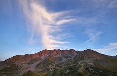 DSF4112 (stephan.bravo) Tags: fuji fujixt2 fujinonxf1024mmf4 colors sky clouds mountains sunset landscape nature blue bluehour coldulautaret hautesalpes