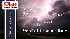 Product Rule (Proof) (Math Doubts) Tags: productrule product law productlaw differentiation calculus differentialcalculus