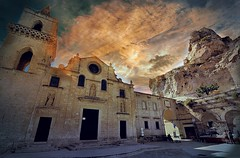 Matera città dei Sassi (* landscape photographer *) Tags: matera cittàdeisassi capitaledellacultura nature sunset cloud architecture archeology history basilicata lucania italy europe world picture perfect work click nikon 2018 flickr