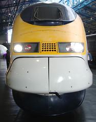 Eurostar Front (Ravensthorpe) Tags: york rail nrm trains electric class373