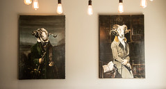 *** (slava eremin) Tags: matakana newzealand art pub funny paintings nz