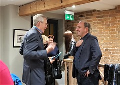 2018 0922 603 (SGS8+) Jeremy Vine, X; Appledore; The Royal George; ABF Friends' VIP Dinner (Lucy Melford) Tags: samsunggalaxys8 appledore book festival friends vip dinner jeremy vine