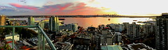 Pano: A blazing Vancouver sunset (+3) (peggyhr) Tags: peggyhr panorama harbour skyline cityscape clouds sunset autumn img9800y vancouver bc canada niceasitgets~level1 super~sixbronze☆stage1☆ thelooklevel1red super~six☆stage2☆silver niceasitgets~level2 thelooklevel2yellow interestingviews niceasitgets~level3 super~six☆stage3☆gold 50faves niceasitgets~level4