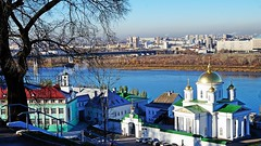 Нижний Новгород (lvv1937) Tags: город река ока монастырь остров exploré мыизяфа
