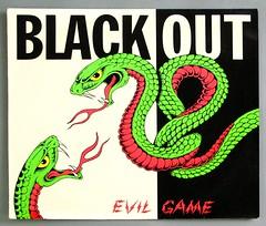 "BLACKOUT EVIL GAME 12"" LP VINYL (vinylmeister) Tags: vinylrecords albumcoverphotos gramophone lp heavymetal thrashmetal deathmetal blackmetal vinyl schallplatte disque album"
