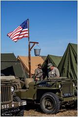 Camp militaire (didier_chantal49) Tags: camps douche drapeau jeep militaire soldat tente cholet maineetloire france fr