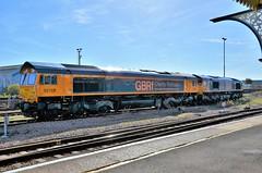 66782 (stavioni) Tags: class66 shed gbrf gb railfreight diesel railway train locomotive