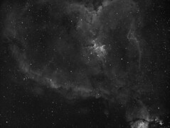 Heart Nebula IC 1805 H-Alpha (Matt Gayton) Tags: nebula heart ic1805 astrophotography asi1600mm skywatcher ed80 heq5 stars deep sky space