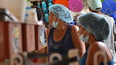 Venezuela refugee women volunteering at Comedor Fundación Nueva Vida Cúcuta (Cristal Montanez Venezuela) Tags: comedorfundaciónnuevavida bancodiocesanodealimentos diocesiscucuta rotarycucuta rotaryeclubhouston colombia refugeecrisis venezuelarefugees hopeforvenezuelanrefugees esperanzapararefugiadosvenezolanos crisishumanitaria cúcuta humanitariancrisis venezuela ayudahumanitaria