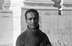 João (Manuel Goncalves) Tags: portrait 35mmfilm blackandwhite lisboa portugal street nikonn90s nikkor28mm ilfordhp5400 epsonv500scanner