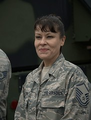 US Air Force (Scott 97006) Tags: airforce woman military fatigues camouflage
