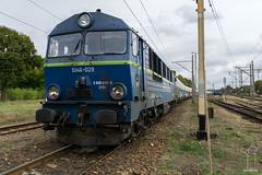 SU46-029 (PM's photography) Tags: pkp cargo su46 su46029 diesel train trainspotting rail railroad railway czerwiensk