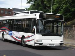 OW03FXG Norwich 3-7-10 (marktriumphman) Tags: irisbus agora norse norwich