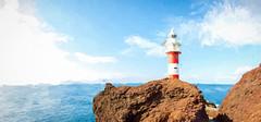 Lighthouse (Carlos Martín Díaz) Tags: lighthouse ocean painted volcanic