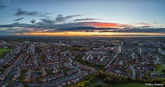 Autumn Sunset (Steve Samosa Photography) Tags: sunset merseyside autumn aerial aerialphotography aerialview drone droneshot droneview prescot england unitedkingdom gb