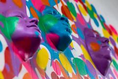 Many Faces (f_seg) Tags: art rue street visages faces 3 three couleurs colors quai36