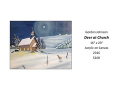 """Deer at Church • <a style=""""font-size:0.8em;"""" href=""""https://www.flickr.com/photos/124378531@N04/31490071138/"""" target=""""_blank"""">View on Flickr</a>"""