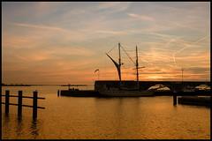 Sunset Bataviahaven
