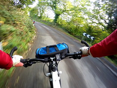 G0024794 (Photopedaler) Tags: cornishcycling bicycleriding gopro pov speed motion