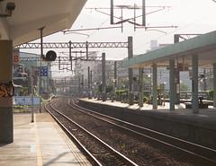 Taipei, Taiwan (dan tsai) Tags: taipei olympusomdem5 em5 olympus omd taiwan iphoto trainstation