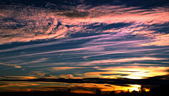 Autumn dream (portalealba) Tags: zaragoza zaragozaparque aragon españa spain sunset sol nwn nubes cielo canon eos1300d portalealba