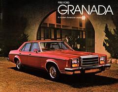 1980 Ford Granada (aldenjewell) Tags: 1980 ford granada brochure