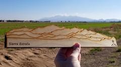 mini mountains (BCooner) Tags: sierraestrella mountains distantmountains goodyearaz model miniature lasercut