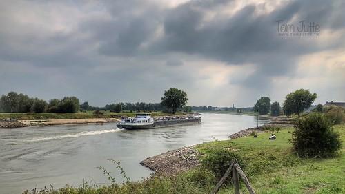 Laag water, IJssel, Wilp, Netherlands - 1859