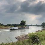 Laag water, IJssel, Wilp, Netherlands - 1859 thumbnail