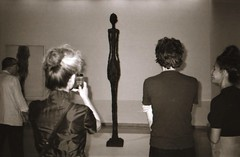 2 of 2 - Giacometti  in NY (Meredith Jacobson Marciano) Tags: giacometti art guggenheim museum sculpture kentmere bwfp blackwhite