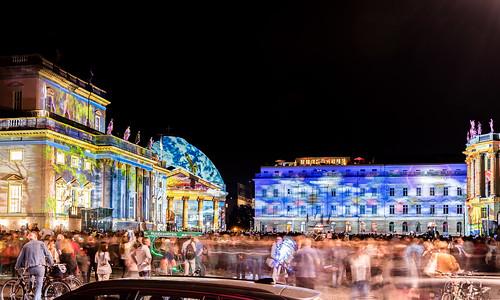 Festival of lights, Bebelplatz, Berlin
