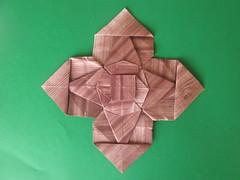 José Meeusen's Cross (georigami) Tags: origami papiroflexia papel paper