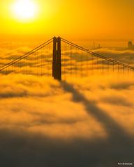 Morning Inspiration (davidyuweb) Tags: morning inspiration sanfrancisco low fog goldengatebridge luckysnapshot 三藩市