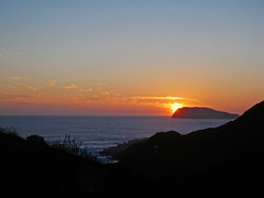 Little Long Point Sunset (maritahills) Tags: sunset sun ocean sea waves landscape water westernaustralia nikon clouds