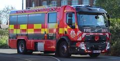 PO18 TVV (Ben - NorthEast Photographer) Tags: greater manchester fire rescue service gmfrs tru technical poppy appeal 11th november new ashton leigh station 18 plate po18 tvv po18ttv