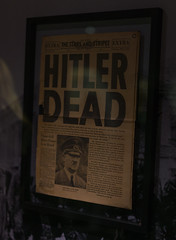 Hitler's death (Falcon_33) Tags: adolfhitler france french falcon®photography raw ishootraw mémorialdecaen caen normandie wwii 101stairbornedivision america amérique usa usarmy starsandstripes war secondeguerre mort museum sony variotessartfe1635mmf4zaoss nissan