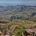 Looking Across the Rugged Mountainside from the South Rim (Big Bend National Park)