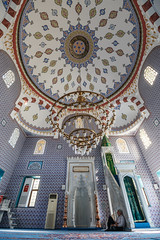 Inside Fatih Mosque (aksoykaan1) Tags: mosque worship holy historical mosaic old interior wide wideangle gokceada gökçeada canon70d canon canon1018 1018mm