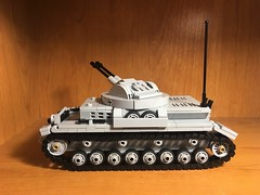 Flakpanzer IV Kugelblitz Detail (Wehrabricks) Tags: lego german wwii flakpanzer iv kugelblitz spaag tank panzer