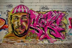 Graff by Seku Ouane ! (Steph Land) Tags: seku sekuouane graff graffiti spray sprayart artiste art artderue street streetart zeiss zeisslens carlzeisslenses carlzeiss peinture peintre caps aerosol