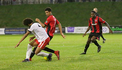 Lewes 2 Kings Langley 1 FAC replay 26 09 2018-446.jpg (jamesboyes) Tags: lewes kingslangley football nonleague soccer fussball calcio voetbal amateur facup tackle pitch canon 70d dslr