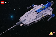 Galaxy Interdictor (AFOL-anon) Tags: shiptember2018
