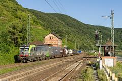 BLS Re 475 412, Kaub, 20-6-2018 (mch68) Tags: bls bernlötschbergsimplon duitsland electriclocomotive europe germany kaub rail re475 siemens vectron