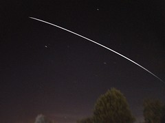 International Space Station 02.10.18  20:28 (andystones64) Tags: internationalspacestation iss orbit movement motion spaceflight spacecraft mission expedition lighttrail earthandspace reflection sunlit stars space speed satellite nasa esa manmade manned