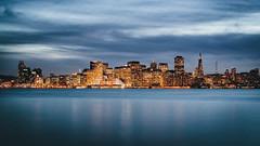 San Francisco blue hour (Lichtfeld) Tags: san francisco blue hour dusk city skyline canon 5d mark 2 ii usa california