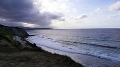 Corniche d'Urrugne (BrigitteChanson) Tags: urrugne corniche atlantique océan ciel nuages pyrénéesatlantiques paysbasque basque nubes nuvole cielo sky sea nouvelleaquitaine