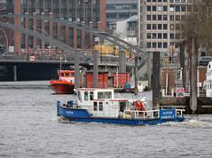 Alster (MMSI 211639750) (Parchimer) Tags: schubboot pushboat towboat pousseur pchacz duwboot spintore empurradorfluvial binnenschiff tolómotorhajó pushertug hamburg hafen elbe