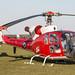 EGBP - Westland Gazelle HT3 - G-ZZLE / XX436